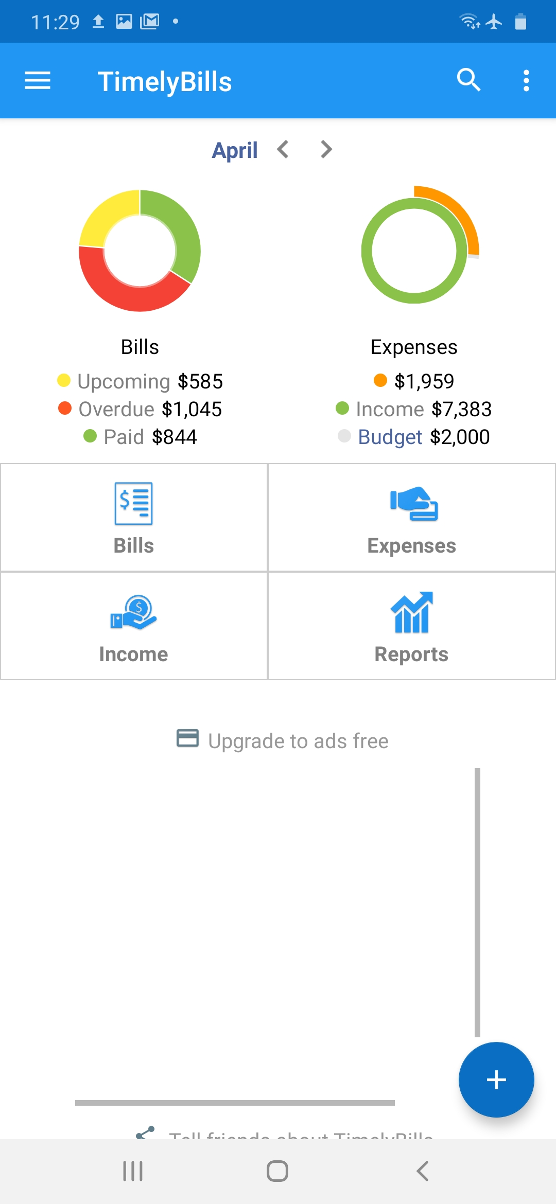 How to enable overspending alerts?